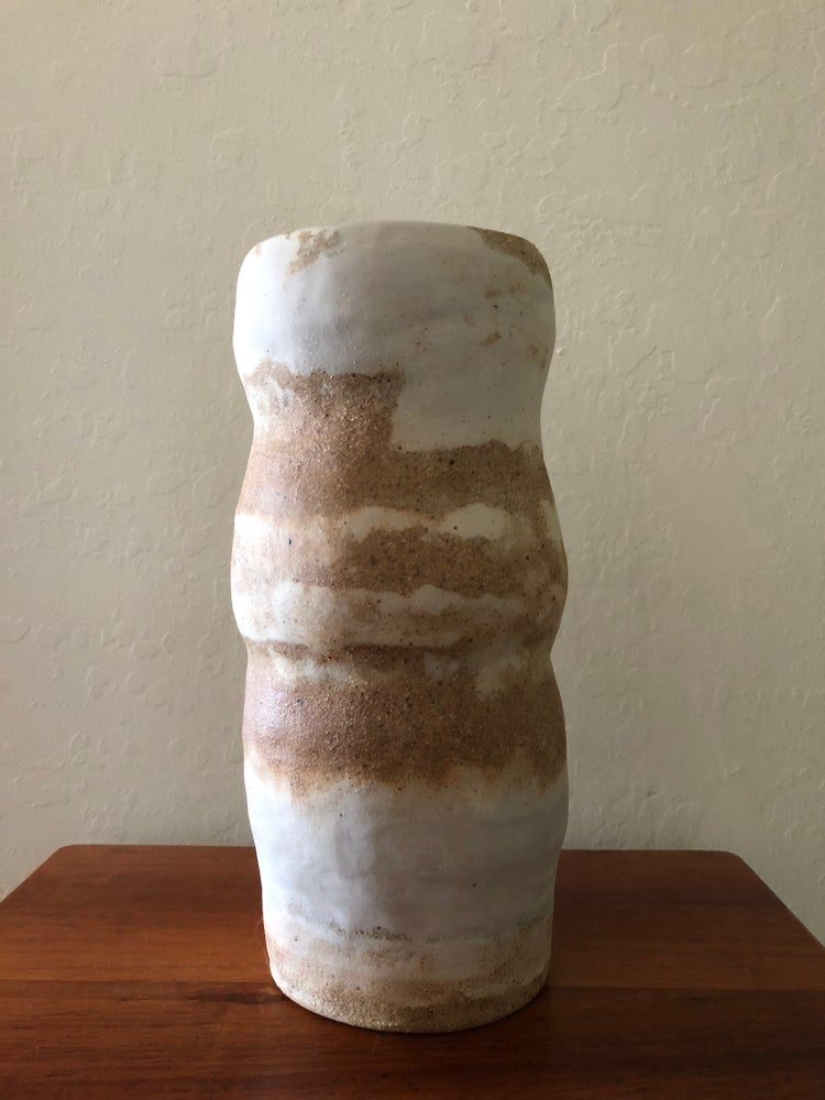 Image of Porcelain / Mixed Clay Vase