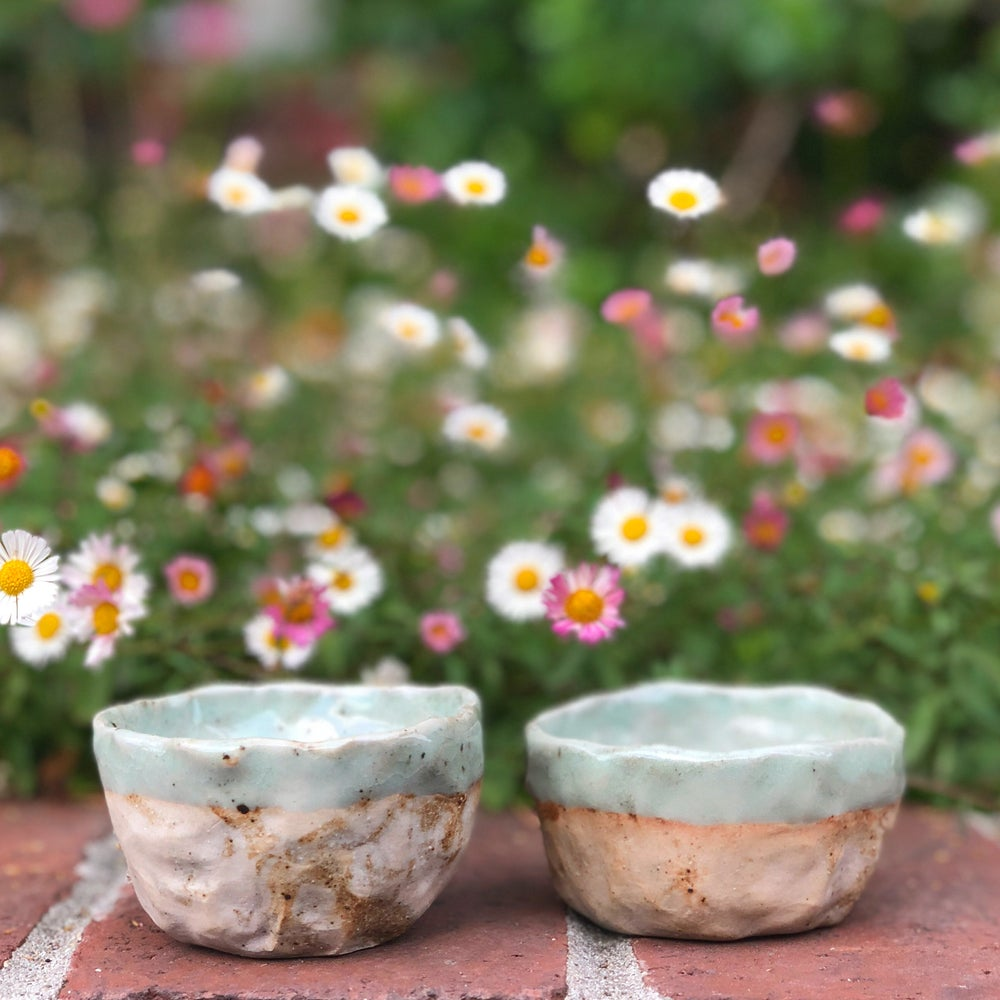 Image of Mini Porcelain / Mixed Clay Bowls
