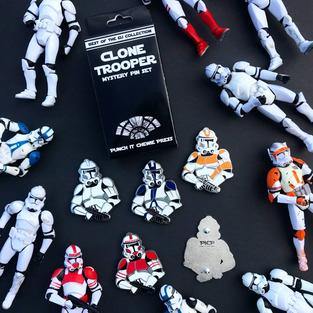 Clone Trooper Mystery Pin Set