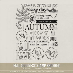 Image of Fall Goodness Stamp Brushes (Digital)