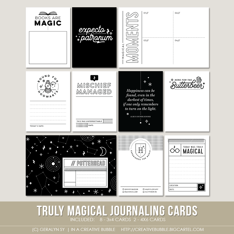 Image of Truly Magical Journaling Cards (Digital)