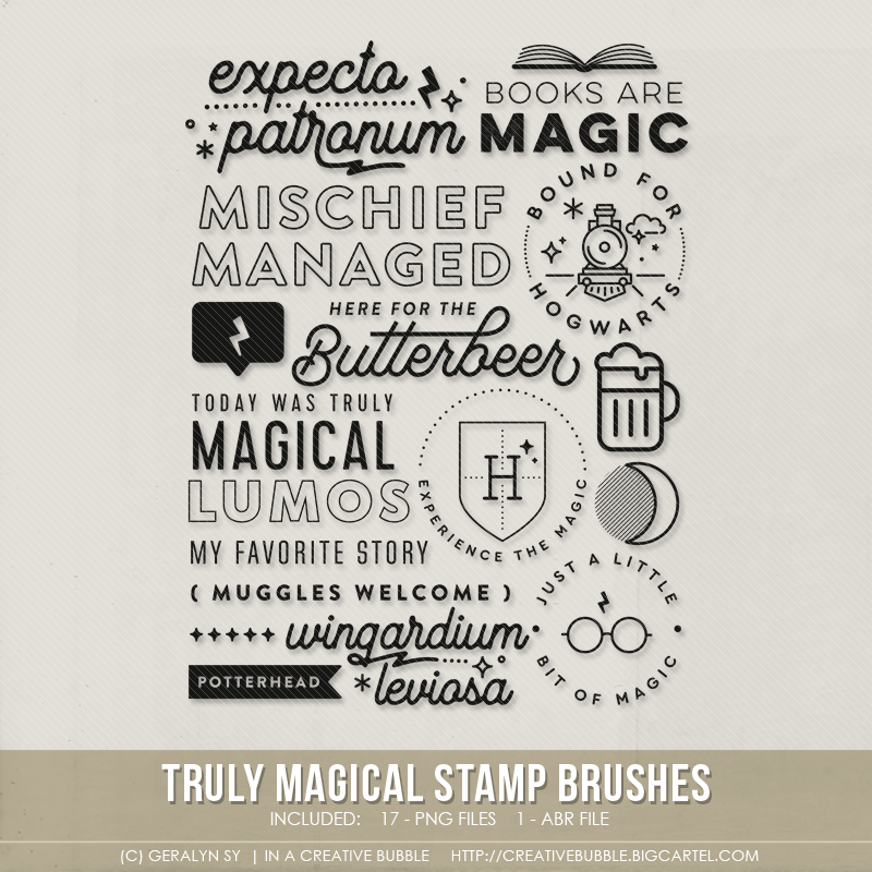 Image of Truly Magical Stamp Brushes (Digital)