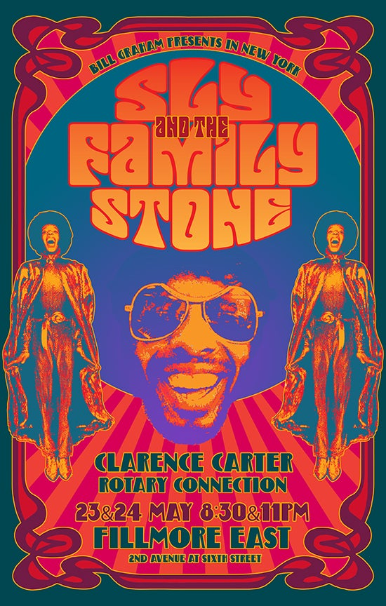 Image of SLY & The Family Stone at the Fillmore East 1969