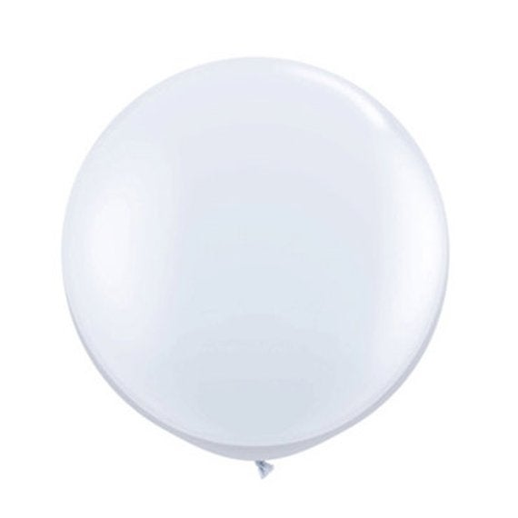 Image of Giant Round Balloons - White