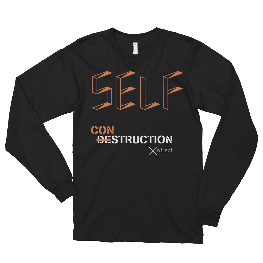 Image of Self Construction long-sleeve tee