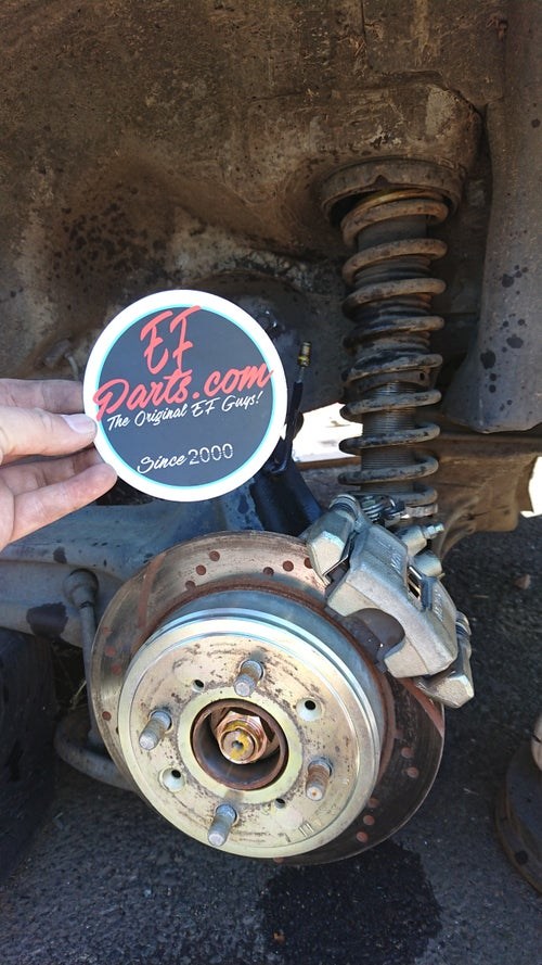 Image of Honda Civic Wagon Rear Disk Convertion Kit