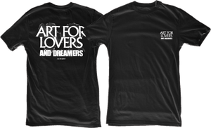 Image of BLACK / Art for Lovers and Dreamers Tee