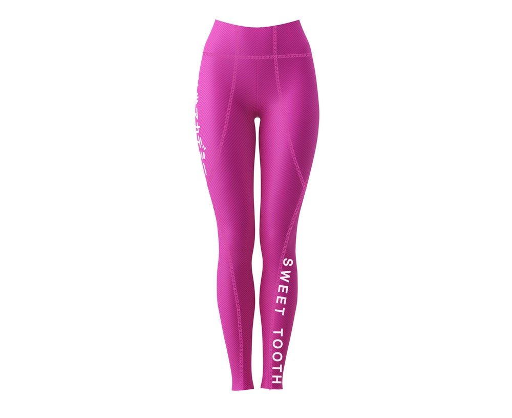 Image of Kimye's  Workout Leggings Pink