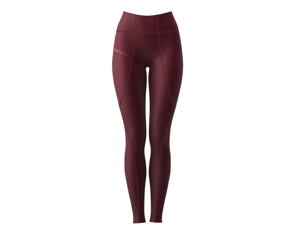 Image of Amato Classic Maroon Leggings