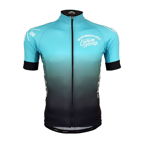 Image of Teal Fade Jersey - PRE-ORDER