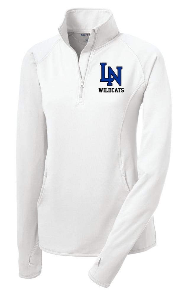 Image of Ladies Sportwick Quarter Zip Pullover -