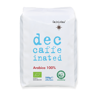 Image of decaffeinated - arabica - organic certified  - coffee beans / ground