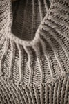 KNIT#40 NATURAL GREY YAK WOOL BY JAN-JAN VAN ESSCHE