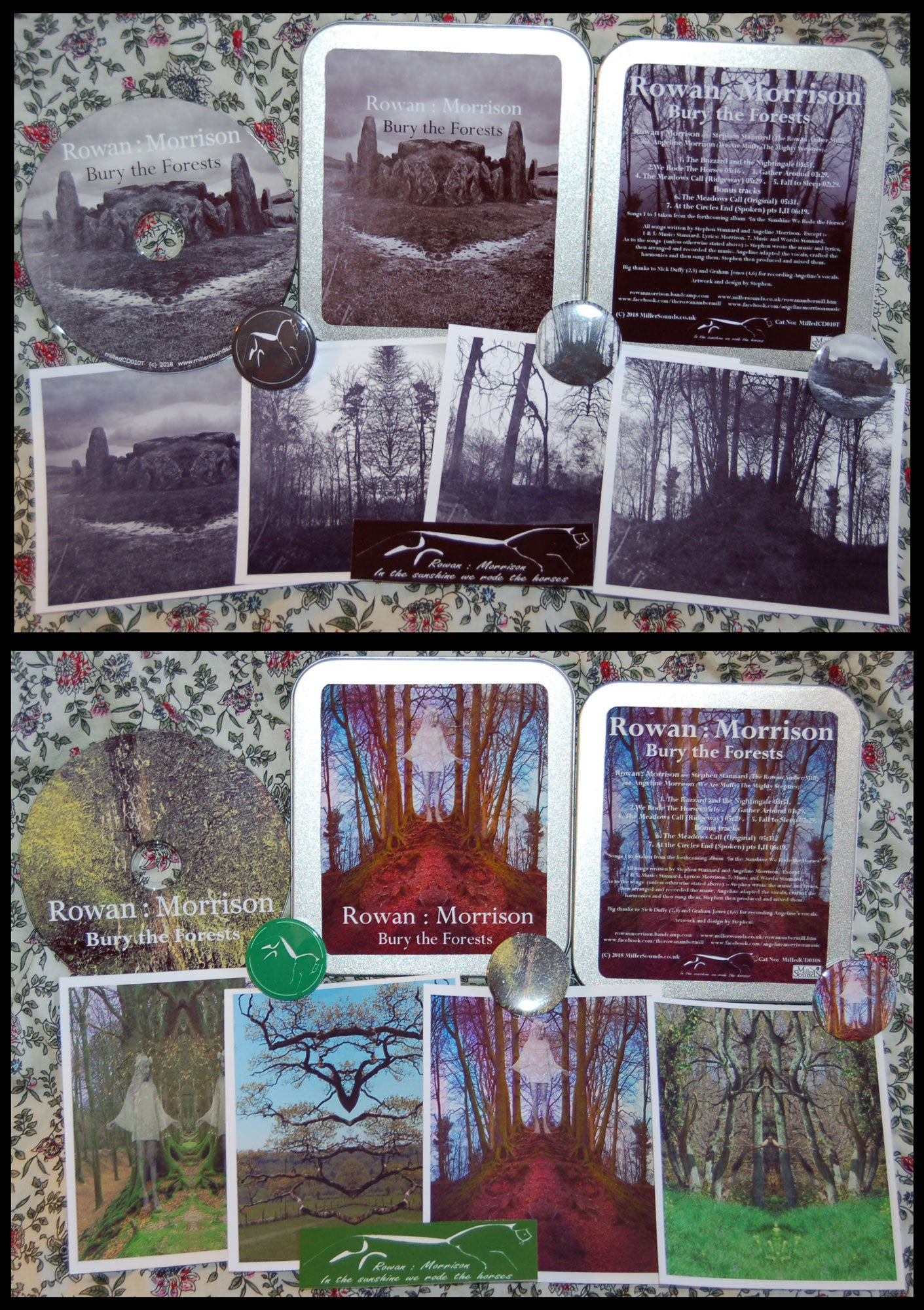 Image of Bury the Forests by Rowan : Morrison