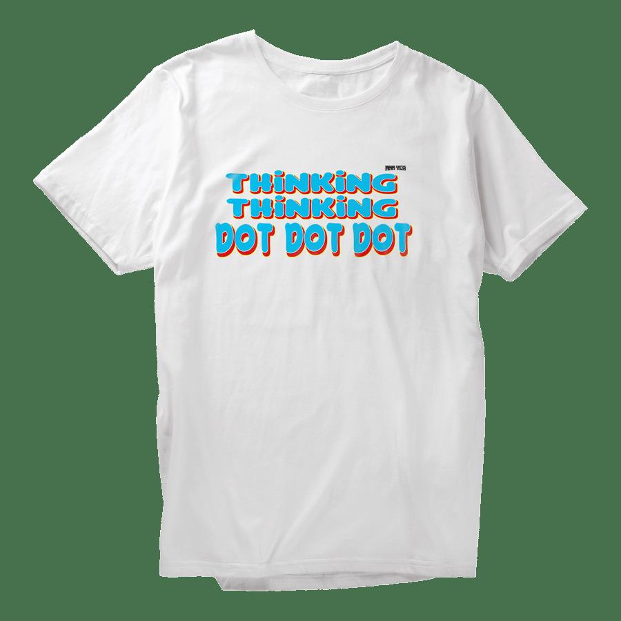 Image of Thinking Thinking T-shirt - White