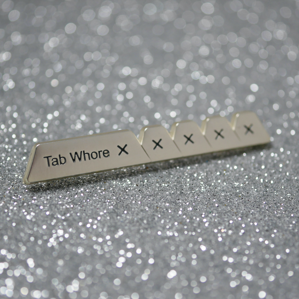 Image of Tab Whore Pin