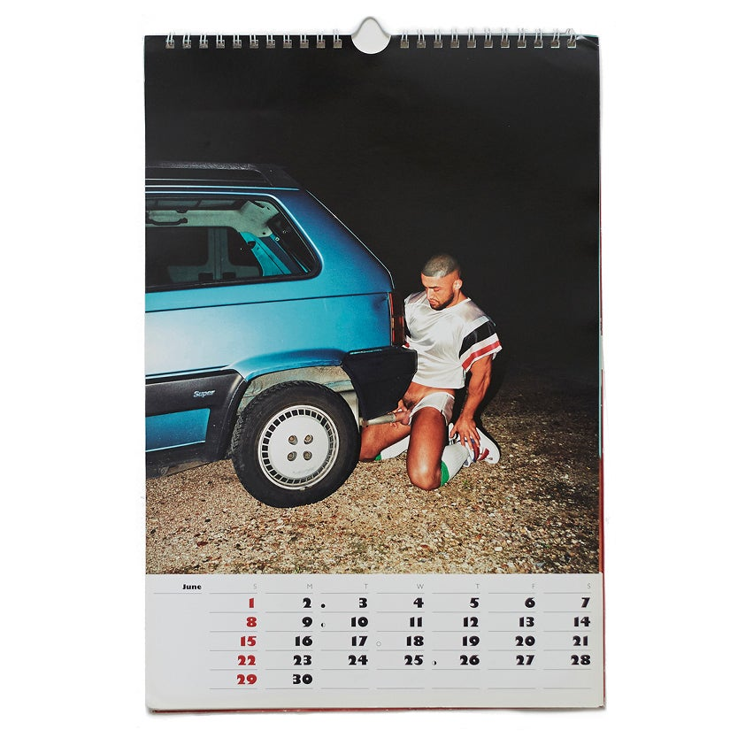 Image of Cocaine Calendar - BERNHARD WILLHELM / FRANÇOIS SAGAT