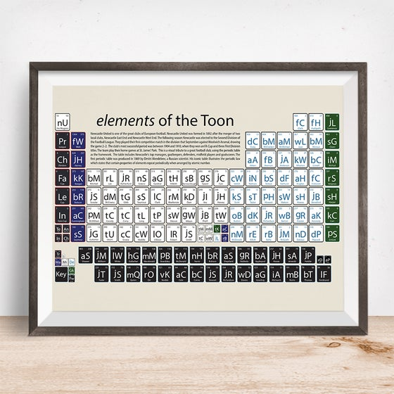 Image of Newcastle United - elements of the Toon