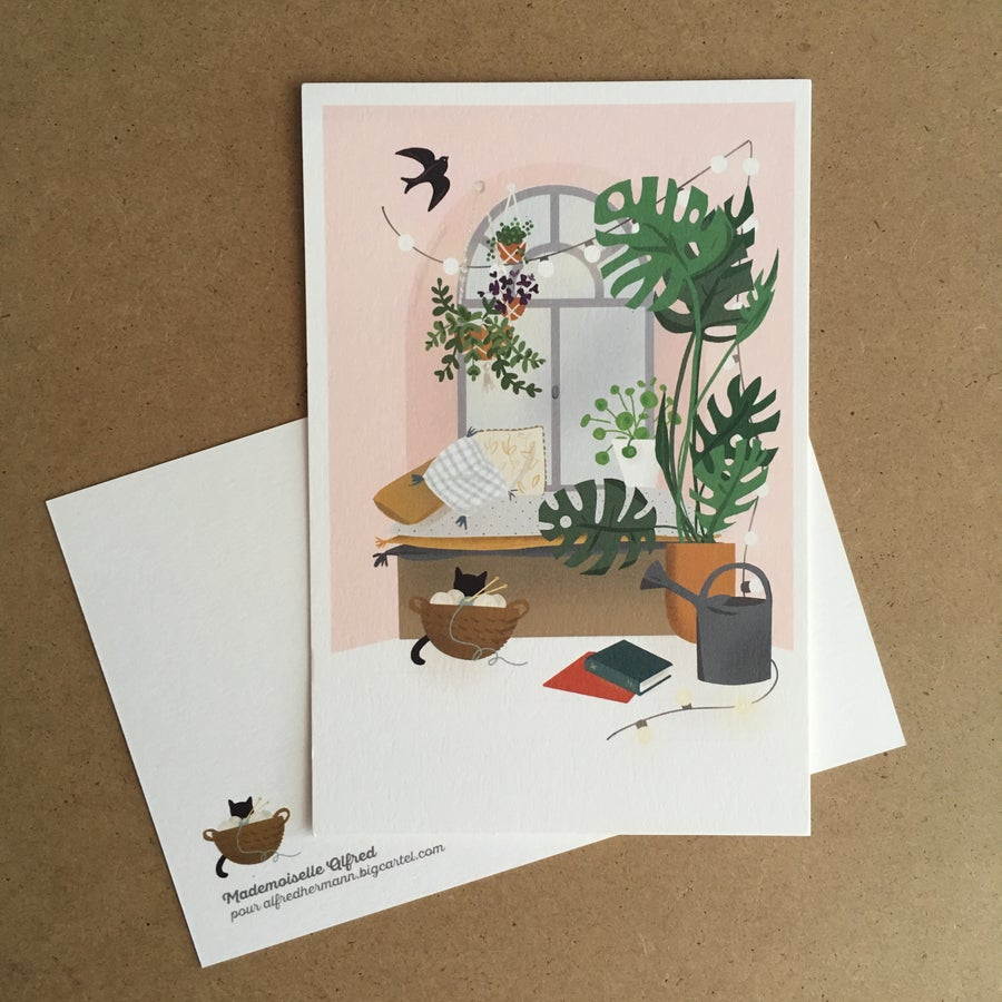 Image of Carte postale «la fenêtre»