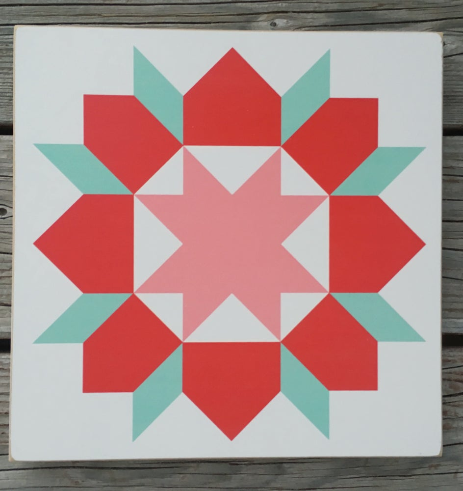 Image of Swoon - B&C Wood Barn Quilt