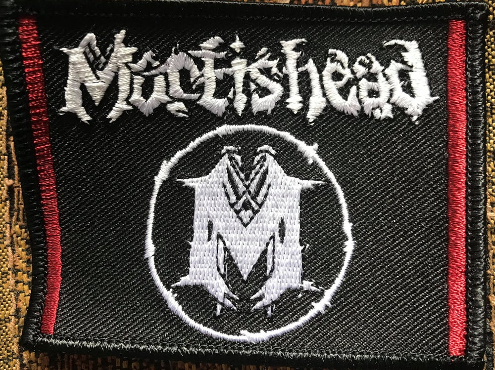 Image of 'MORTISHEAD' + 'M' INSIGNIA PATCH (Embroidered)