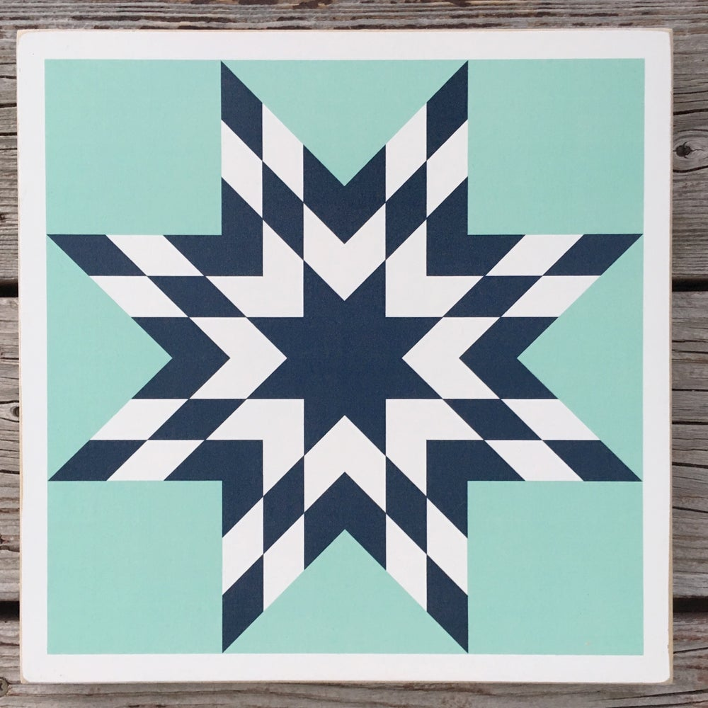 Image of Nantucket - B&C Wood Barn Quilt
