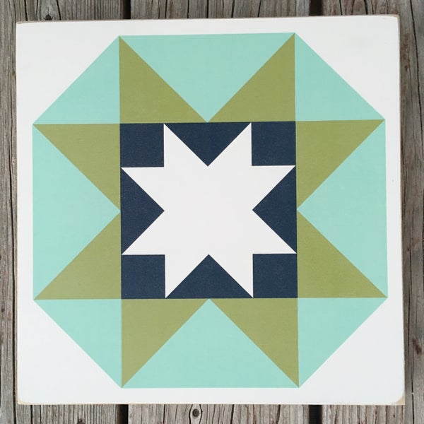 Image of Night Sky - B&C Wood Barn Quilt