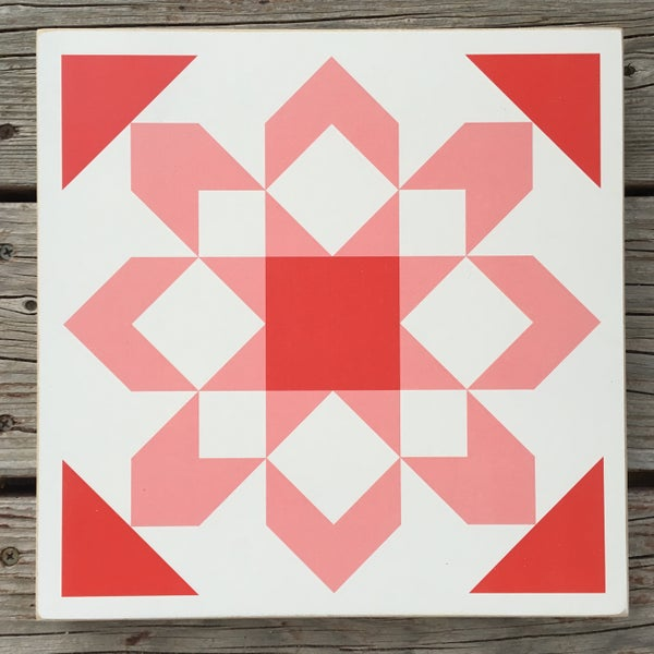 Image of Fireworks - B&C Wood Barn Quilt