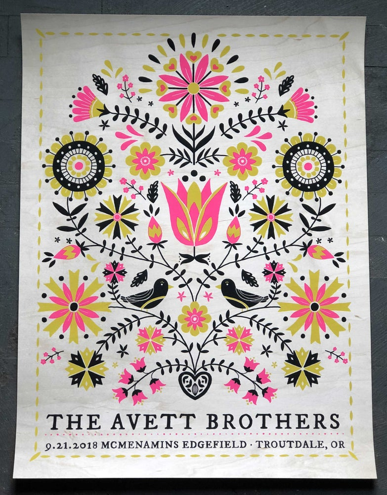 Image of The Avett Brothers Edgefield Birch Veneer Variant