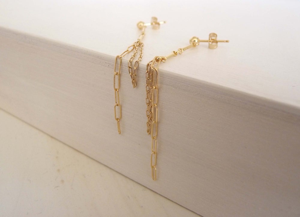 Image of Chain earrings