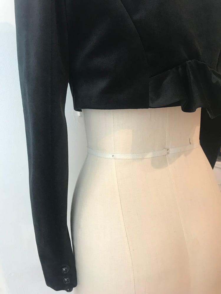 Image of Toreador velvet jacket