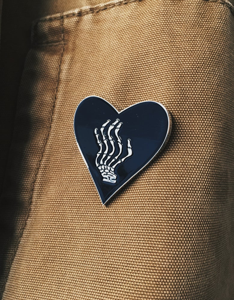 Image of Heart enamel pin