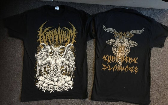 Image of KRAANIUM - Sons of Northern Slamage T-shirt