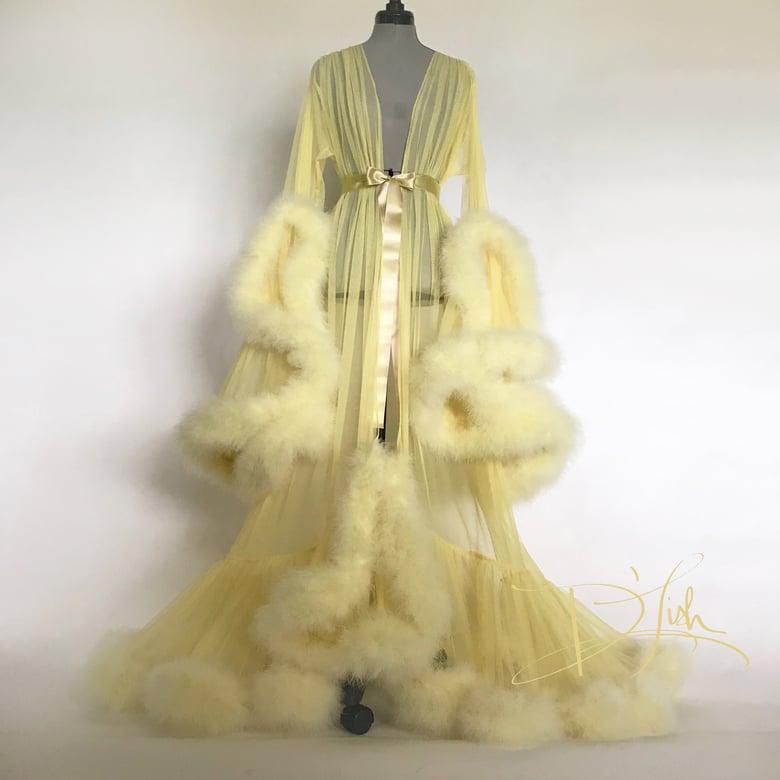 Marabou Dressing Gowns | Boudoir by D\'Lish