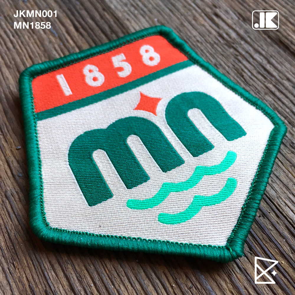 Image of JKMN001 MN1858 Patch