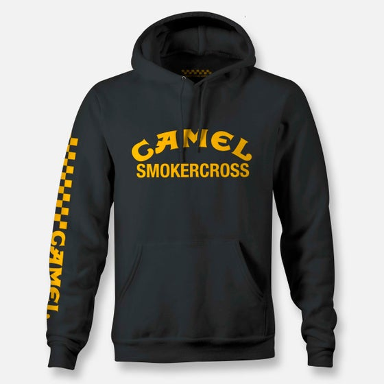 Image of CAMEL SMOKERCROSS PULLOVER HOODIE