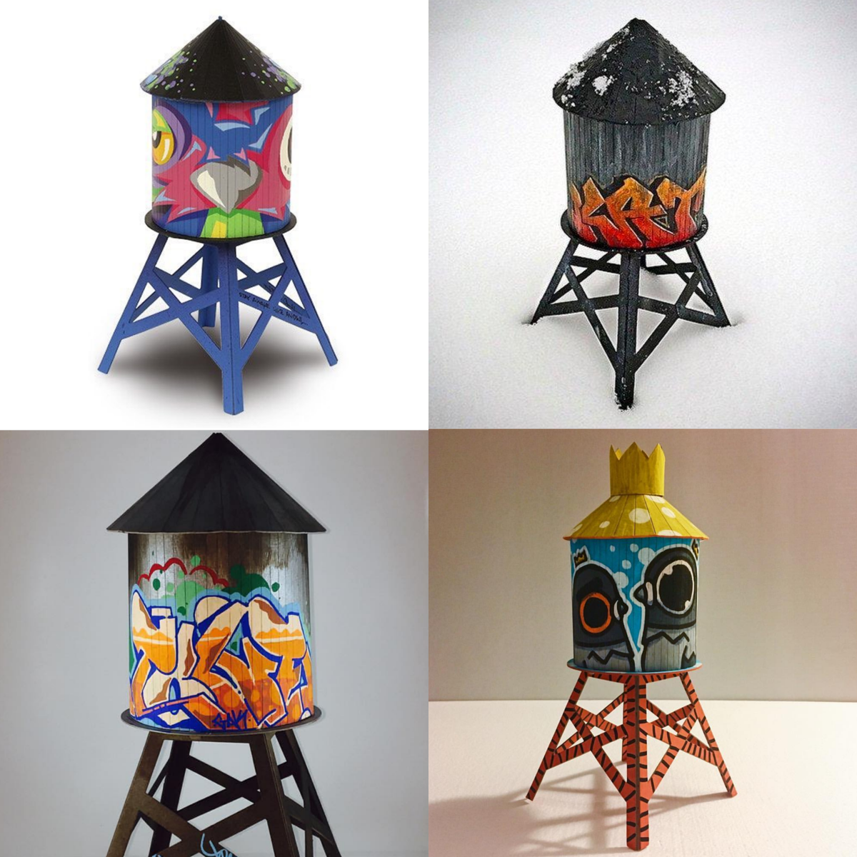 Image of Boundless Brooklyn - Model Water Tower Kit (Medium)