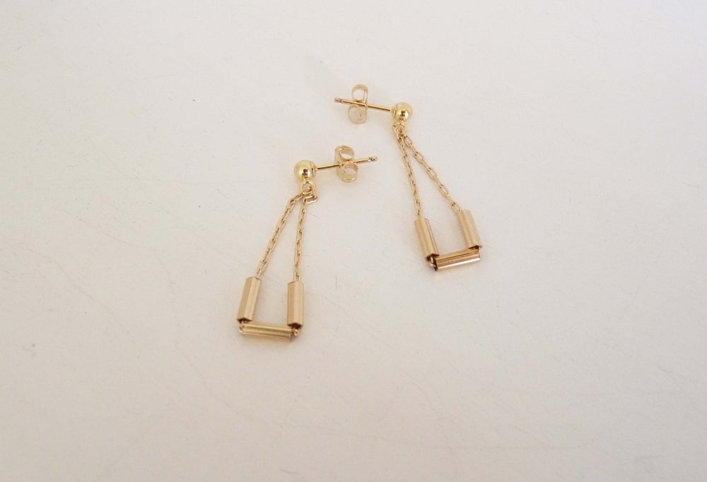 Image of Tri earrings