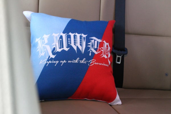 "Image of KUWTB ""Stripes"" Pillow"