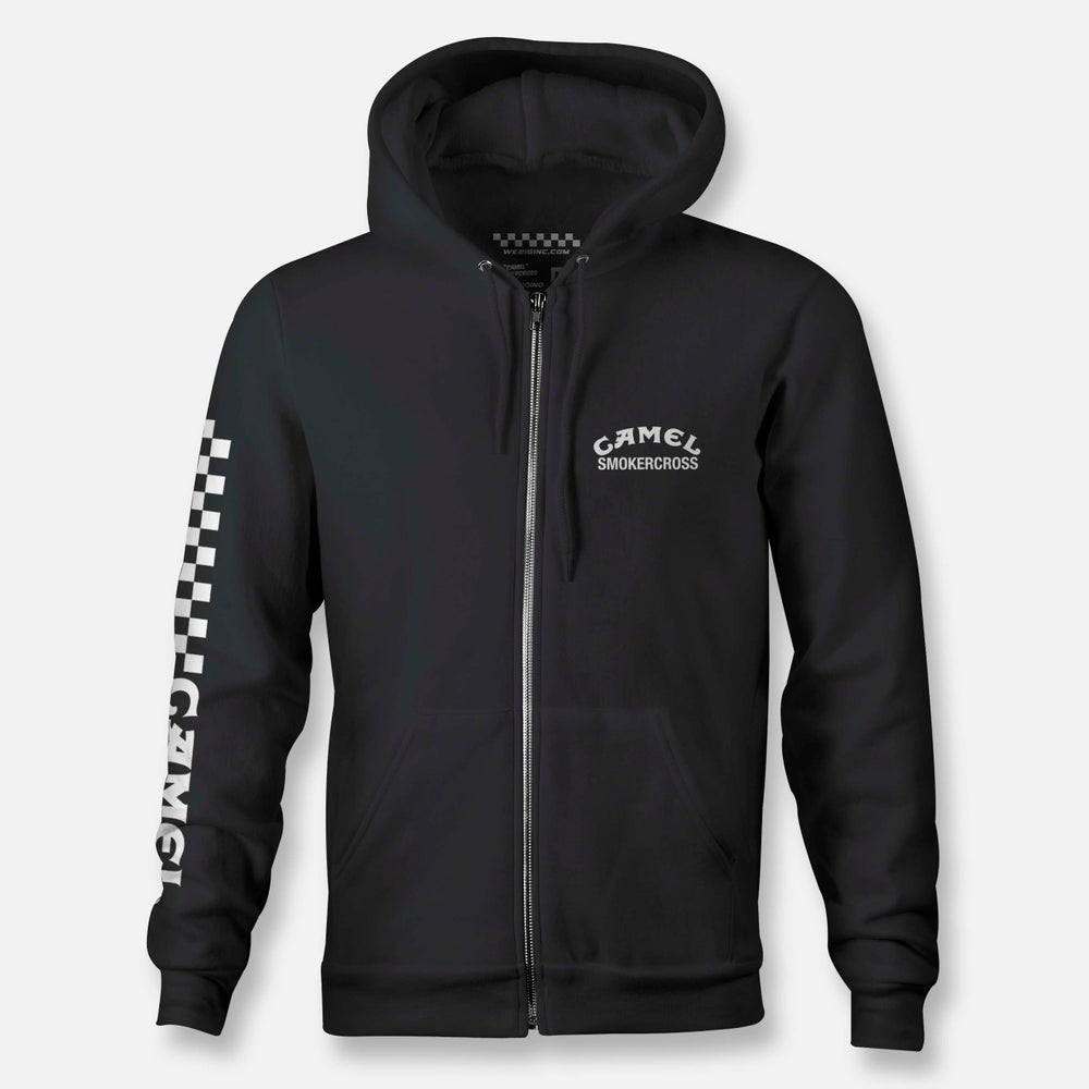 Image of CAMEL SMOKERCROSS ZIP HOODIE