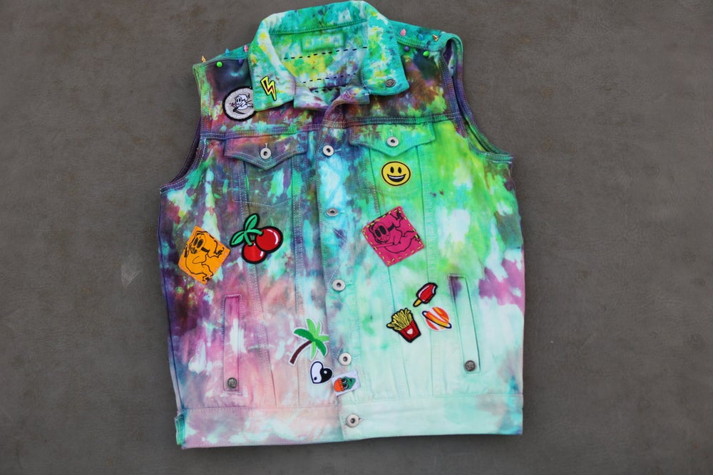 Image of 1/1 XS/SMALL PSYCHO LAZIEN CRAYZ VEST