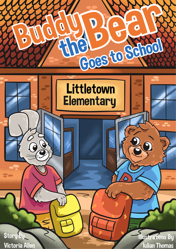 Image of Buddy the Bear - Goes to School