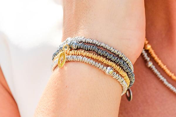Image of Armband Verona Gelbvergoldet