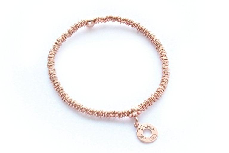 Image of Armband Verona Rosevergoldet