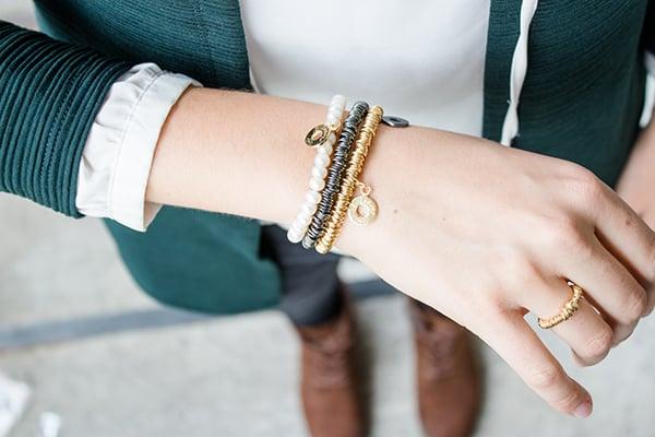 Image of Armband Roma Gelbvergoldet