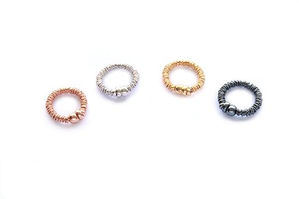 Image of Ring Ruthenium/Schwarz