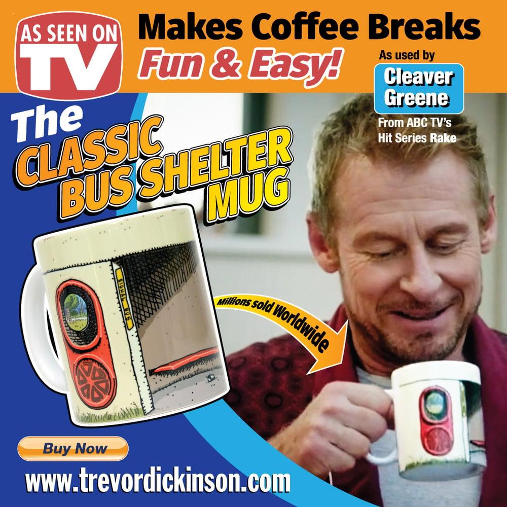 Image of CLASSIC BUS STOP MUG.