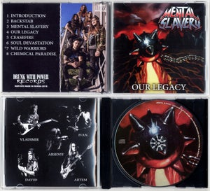 "Image of MENTAL SLAVERY ""Our Legacy"" CD"