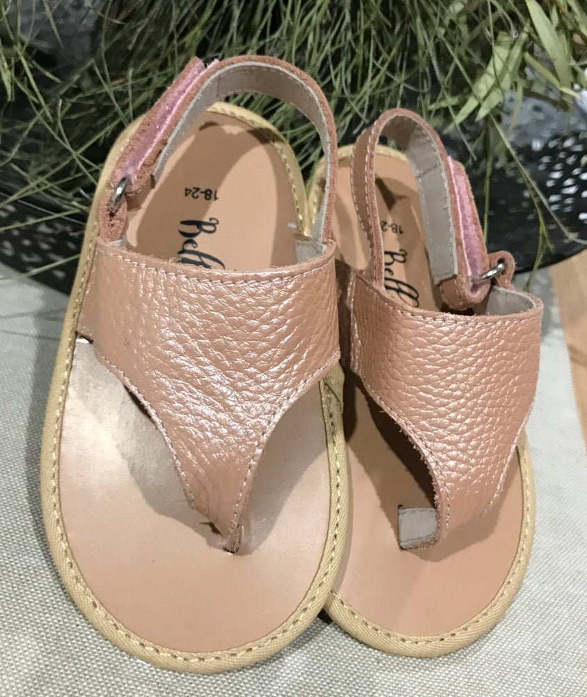 Image of Bella Eve Limited Edition Rose Gold Sandals