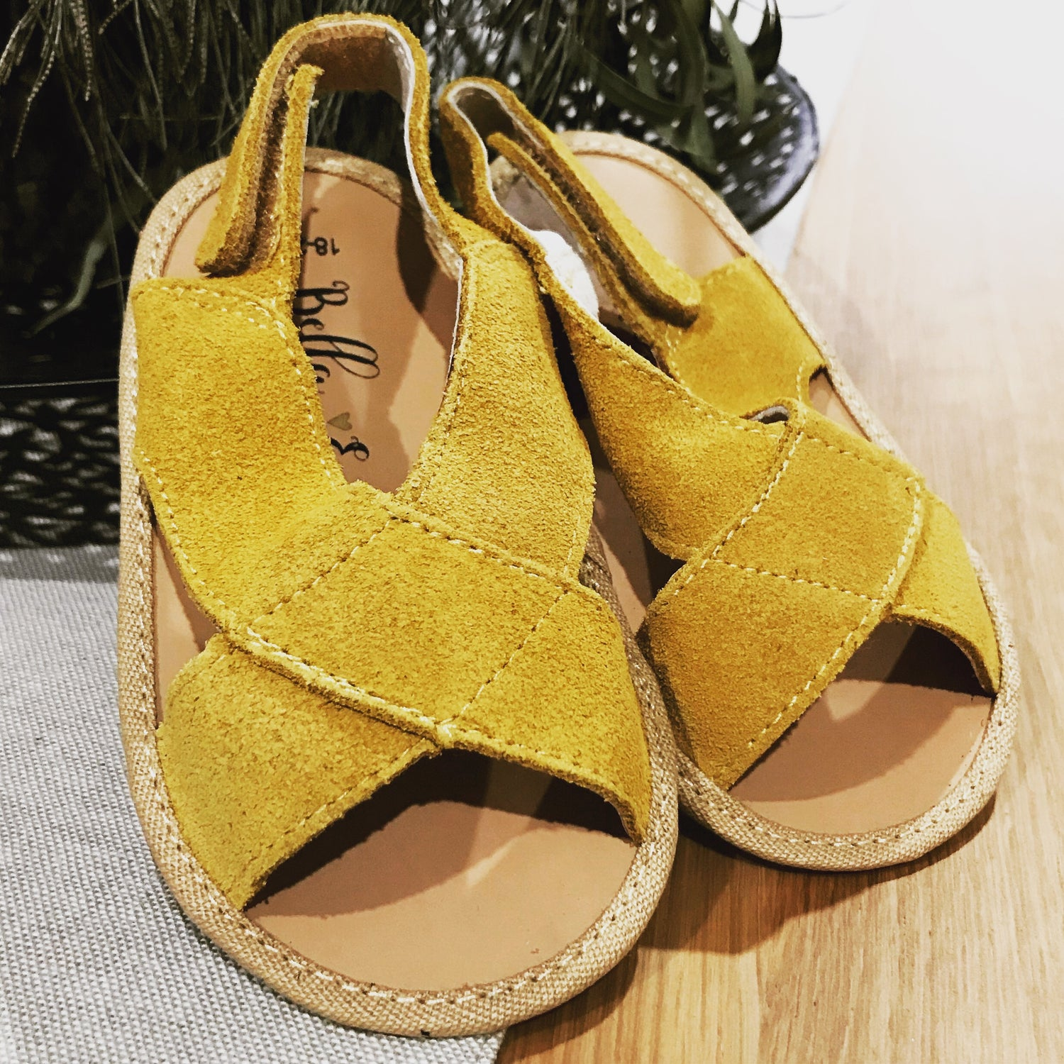 Image of Bella Eve Ollie Suede Sandals
